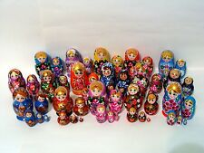 30 Russian Hand Painted Nesting Doll Matryoshka 5 pcs Sets Wholesale Bulk Price