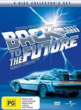 Back To The Future Trilogy Dvd Boxset 4 Discs Like New