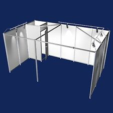 Messestand mit Beleuchtung Abstellkammer Reihenstand 5x3 Meter Modul 24