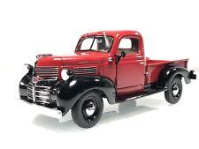 Danbury Mint 1941 Dodge W-Series Pickup Truck Red & Black 1:24 Diecast Car