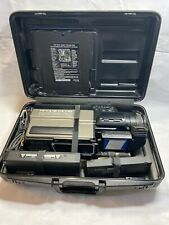 Panasonic Omnimovie Pv-210D Vhs Hq Camcorder with Case and Accessories