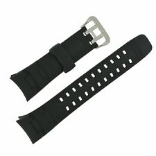 Genuine Casio Black Resin Watch Strap GW-002E G-7600 GW-002BJ G-7400 10173433