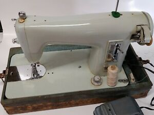 Vintage Brother Opus sewing machine  1351 with cover ( working with test video )