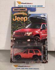 Jeep Grand Cherokee * Orange * Matchbox Jeep 75th Ann. * K13