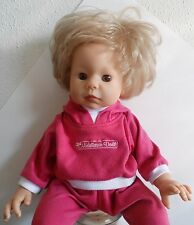 "1999 Lee Middleton Baby Doll by Reva 18"" Blonde Hair Brown Eyes, original outfit"