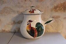 Ancien pot en terre cuite de MEYSSAC - Corrèze - Coq