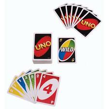 Standard Fun Uno Card Game 108 Playing Cards playing Family Children Friends KJ