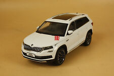 1/18 China Volkswagen Skoda KODIAQ suv diecast model WHITE color