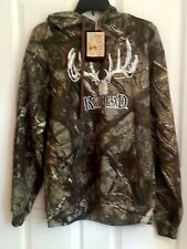 NWT NEW! CAMOUFLAGE HOODIE SWEATSHIRT PULL OVER-SIZE S/P TRUE TIMBER CAMO HOODED