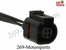 4 Pin Pigtail Plug Wiring Connector Fits VW Jetta Golf Passat Audi A4 A6