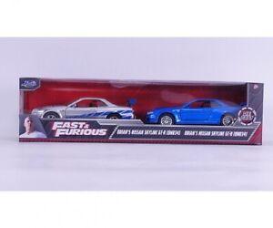 Jadatoys 253204004 - 1/32 Fast & Furious Twin Pack  - Neu