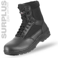 SURPLUS SECURITY BOOTS 9LOCH STIEFEL ARBEITSSCHUHE WORKER GOTCHA PAINTBALL 39-47