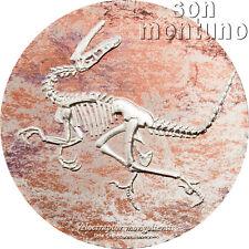 "VELOCIRAPTOR - 3 oz Silver Coin 2018 Mongolia NEW SERIES ""Prehistoric Beasts"""