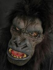 Halloween Costume REALISTIC GORILLA LATEX DELUXE MASK Haunted House NEW