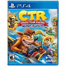 Crash Team Racing: Nitro-Fueled PS4 [Brand New]