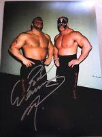 Road Warrior Animal Signed 8x12 Photo LOD HAWK NWA WWF AWA WRESTLING