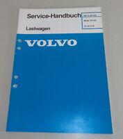 Workshop Manual Volvo Lorry FL10/F10 Motor Td 102 Stand 1989