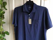 NWT Peter Millar Seaside Wash Polo Shirt Size LARGE