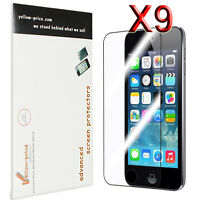 9x Clear HD LCD Screen Protector Cover Guard For itouch iPod Touch 6 5th Gen.