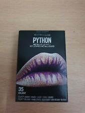 MAYBELLINE LIP STUDIO® PYTHON METALLIC LIP KIT 35 VALIANT.NEW