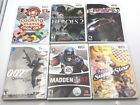 Wii Nintendo Madden 07 Medal of Honor Heroes 2 Need 4 speed Boogie Cook off 007