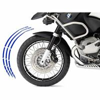 BMW R 1200 GS KIT ADESIVI SPECIFICI COLORE BLU CERCHIO PROFILO RUOTA