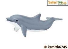 Safari Tursiope Delfino giocattolo di plastica solida Wild Zoo Animale Marino Mare NUOVO