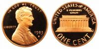 1983 S Proof Lincoln Cent