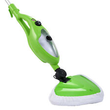 1200W 10 In 1 Multifunction Steam Mop Floor Steam Cleaner Home Kitchen Green