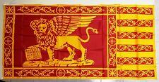 Bandiera Veneta Serenissima San Marco dim. 150x75 cm Veneto Rosso e Oro Venezia