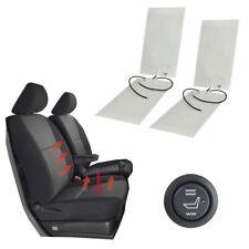 2 Sets Auto Sitzheizung Carbon Heizmatten Universal KFZ PKW 2-Stufig Schalter