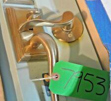 Schlage F60 V ADD 619 ACC Entrance Lock Handle Set Satin Nickel FREE SHIPPING!!