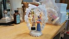 Vintage Cake Topper with very nice -  blue dress