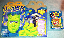 1995 McDonalds Happy Meal Toy - Halloween - MINT / SEALED CASSETTE TAPE #1 + BOX