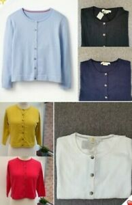 Boden Favourite Cropped Cardigan 3/4 Sleeves - 6 Colours - *PERFECTS*