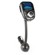 Bluetooth Wireless FM Transmitter LCD Handsfree Car Kit Charger for Cellphone