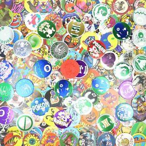 Lot of 200 Pogs / Milk Caps + 2 Slammers Unsorted! Retro Game Nostalgia!