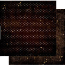 BoBunny 12x12 papel scrapbooking Doble Dot Collection Café Vintage X 2 Hojas