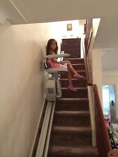 ACORN Stairlift will deliver locally.  Battery backup! Perfect Stair Lift!
