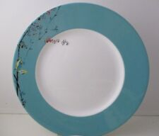 "LENOX CHIRP DINNER PLATE - TURQUOISE BAND - 11 ""   0701G"