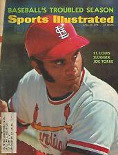 ST LOUIS CARDINALS JOE TORRE 1972 SPORTS ILLUSTRATED MVP 9X ALL STAR 252 HR'S