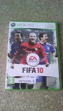 FIFA 10 - VERSION 6 - (Microsoft Xbox 360, 2009)