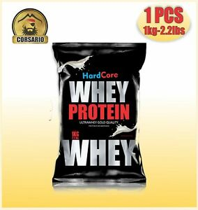 WHEY PROTEIN HARDCORE GOLD (CHOOSE YOUR PAK OF 1KG /3KG /6KG OR 10 KG!)