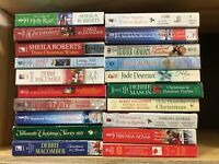 Lot Of 10 Christmas Holiday Romance Paperback Books *Random Mix*