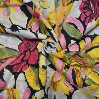 """Mehrfarbig 43 """"Wd Baumwolle Handwerk Material Blumendruck Nähen Stoff Von Hof"""