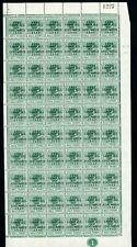Bahamas 1942 Landfall 1/2d Green right hand pane of 60 UM/MNH EX Murray Payne