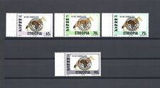 "ETHIOPIA 1994 "" Simien Fox"" Michel 1513/16 MNH Cat £300"