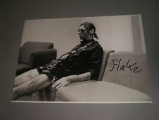 Flake Rammstein signed autograph Autogramm 8x11 inch photo in person