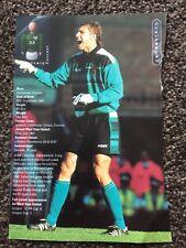 CRAIG FORREST (Ex West Ham U) GOALKEEPER SIGNED 8.5 X 5 MAGAZINE PAGE