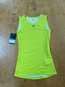 Giordana Mens FRC Pro Tank Base Layer - Lime - M/L
